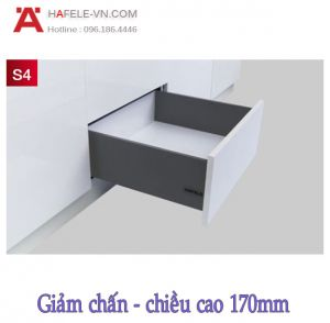 Ray Hộp Alto-S Giảm Chấn H170mm Hafele 552.49.345