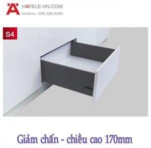 Ray Hộp Alto-S Giảm Chấn H170mm Hafele 552.49.345