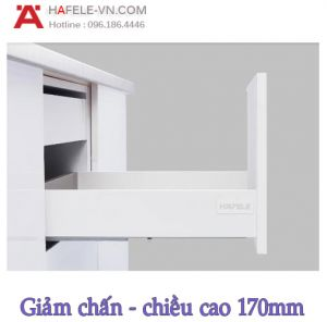 Ray Hộp Alto-S Giảm Chấn H170mm Hafele 552.49.745