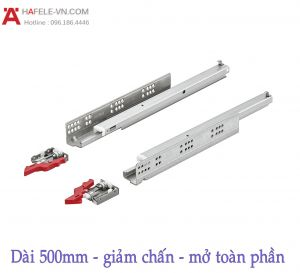 Ray Âm EPC Plus Giảm Chấn 500mm Hafele 433.03.106