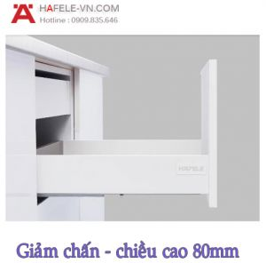 Ray Hộp Alto-S Giảm Chấn H80mm Hafele 552.55.707