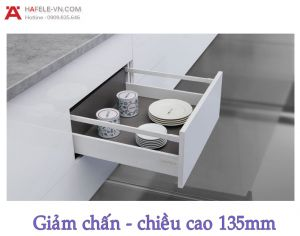 Ray Hộp Alto Giảm Chấn H135mm Hafele 552.77.781
