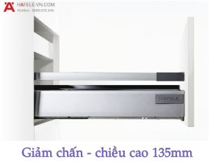 Ray Hộp Alto Giảm Chấn H135mm Hafele 552.77.085