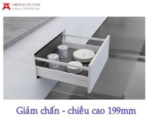 Ray Hộp Alto Giảm Chấn H199mm Hafele 552.79.785