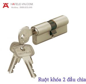 Ruột Khóa 2 Đầu Chìa 71mm Hafele 916.00.013