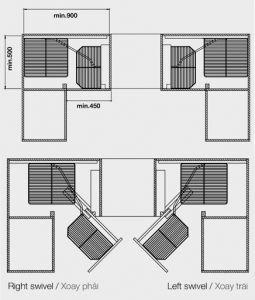Rổ Góc Florence Series Mở Trái Hafele 548.21.012