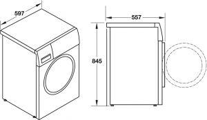 Máy Giặt 9kg HW-F60A Hafele 539.96.140