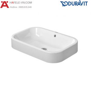Chậu Rửa Duravit Happy D.2 Đặt Bàn Hafele 588.45.125
