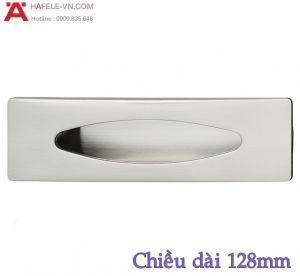 Tay Nắm Tủ Âm 128mm Hafele 151.74.002