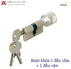 Ruột Khóa 1 Đầu Chìa 1 Đầu Vặn Hafele 916.01.013