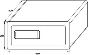 Két Sắt Mini SB-700 Hafele 836.28.380