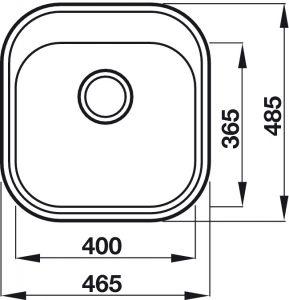 Chậu Rửa HS19-SSN1R50 Hafele 567.23.083