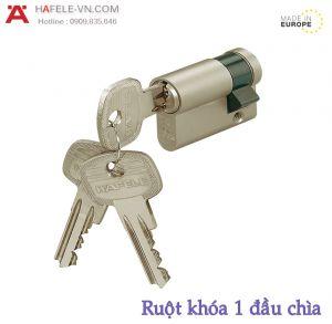 Ruột Khóa 1 Đầu Chìa 45,5mm Hafele 916.00.603