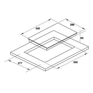 Bếp Từ Domino HC-I302D Hafele 536.01.900