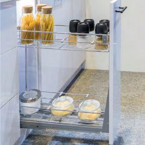Bộ Rổ Kéo Cho Tủ 200mm Milan Series Hafele 549.34.021