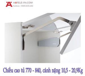 Tay Nâng Free Fold Short H6fs Nắp Trắng Hafele 493.05.899