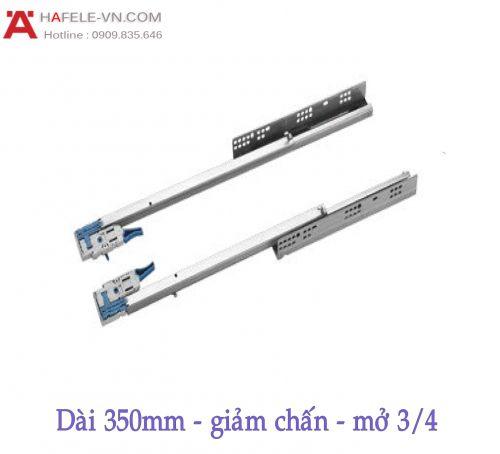Ray Âm EPC EVO Mở 3/4 Giảm Chấn 350mm Hafele 433.32.502