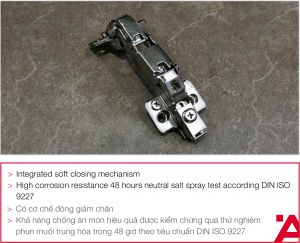 Bản Lề Lọt Lòng Metalla SM 165º Hafele 315.02.752