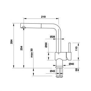Vòi Rửa Chén BlancoLinus-S 565.68.950