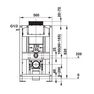 Két Nước Âm Mechanical 1140 Hafele 588.73.922