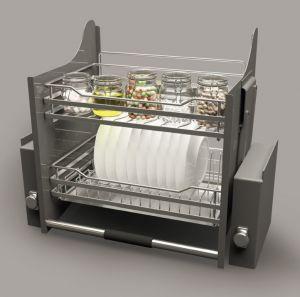 Rổ Chén Đĩa Di Động Lento 900mm Cucina 504.76.008