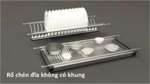 Rổ Chén Đĩa 600mm Không Khung Cucina 544.40.024