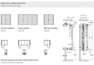 Bộ Phụ Kiện Cửa Concepta Folding 25 Phải Hafele 408.31.001
