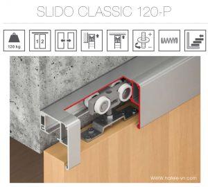 Phụ Kiện Cửa Trượt Slido Classic 120P Hafele 941.02.039