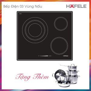 Bếp Điện 3 Vùng Nấu HC-R603A Hafele 536.01.631