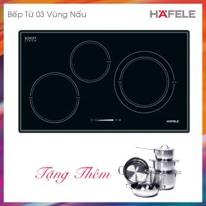 Bếp Từ 3 Vùng Nấu HC-I773B Hafele 536.01.595