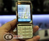 Điện Thoại Nokia c3-01 gold mạ vàng chính hãng