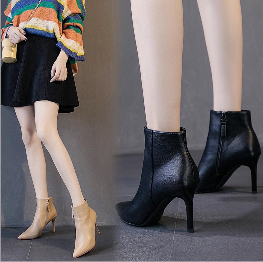 GB9852 - Giày bốt nữ cao 9cm hàng nhập - giá 700k