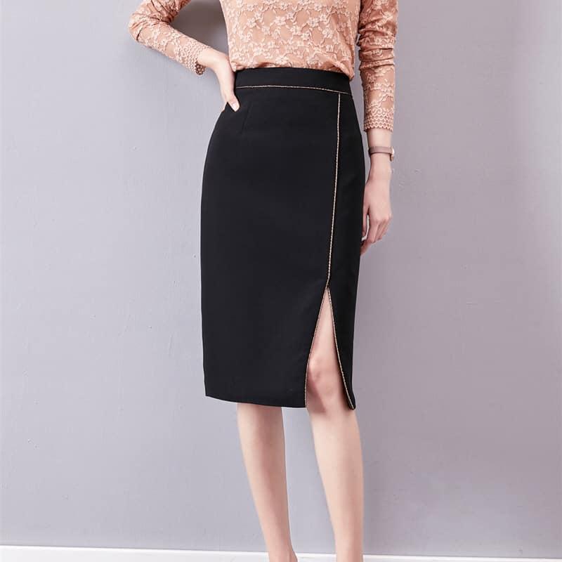 ZY082 - Chân váy ôm xẻ tà hàng nhập - giá 600k