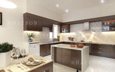 Lựa chọn đá tự nhiên cho không gian bếp