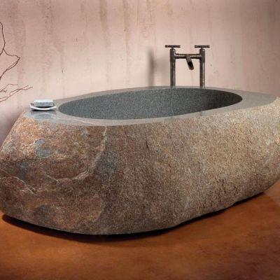Bồn tắm đá - xu hướng mới cho không gian phòng tắm
