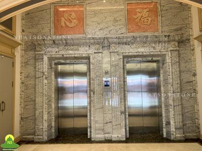 Các mẫu đá tự nhiên cho không gian thang máy