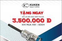 """Chương trình Khuyến mại đặc biệt """"Hãy nâng tầm đẳng cấp cùng Kuken KW-600H"""""""