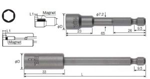 Socket Bit No.MB45