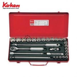 Bộ khẩu vặn tay 1/2 inch  Koken