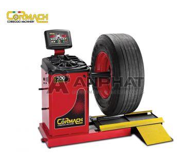 Máy cân bằng lốp xe tải bấm chì Cormach MEC-200TRUCK