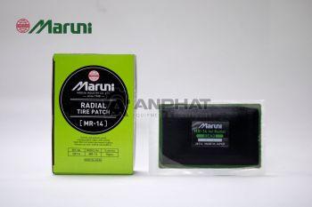 Miếng vá dùng cho lốp bố tròn (bố thẳng) MR-14 (Radial, 82x130mm) 10 miếng/hộp