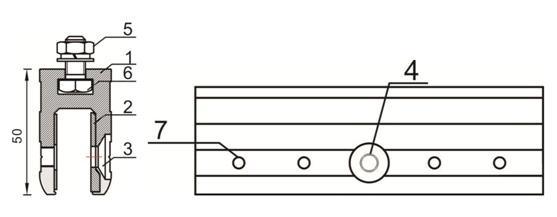 cửa trượt tự động đơn 2 cánh - hình ảnh kẹp kính 2.jpg