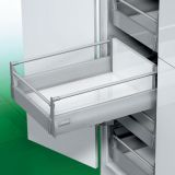 Ngăn kéo tủ bếp Grass DWD-XP 40kg vách thép nâng cấp, lắp âm, 600mm