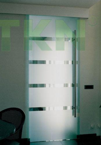 Ray trượt cửa kính Henderson Husky Glass 1 cánh kính 1250mm, 75kg
