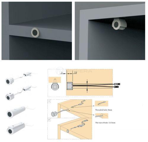 Cảm biến bật tắt đèn bằng cách đóng mở ngăn kéo hoặc cánh tủ NE1102S60W