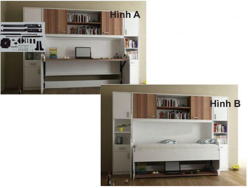 Phụ kiện giường gấp kết hợp bàn làm việc NE666DB66