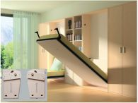 Phụ kiện giường gấp kiểu chiều rộng nhỏ hơn chiều cao NE888VT88