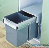 Thùng rác đôi NewEra 2 khoang dung tích 28 lít