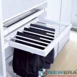 Khung rổ treo quần áo giảm chấn gắn liền 804-884mm NE1164.900
