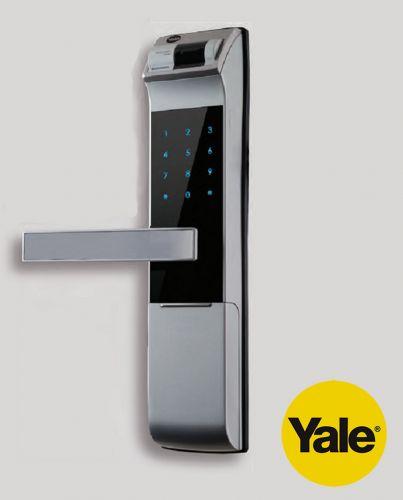 Khóa cửa vân tay kết hợp mã số và chìa cơ Yale YDM4109